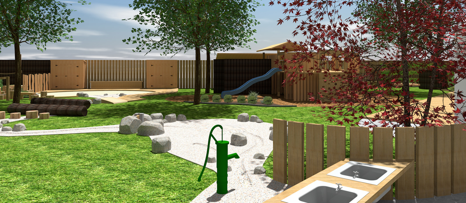3D Design of Lifewise Childcare Centre in Massey // Playscape Design